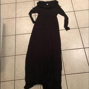 Blushpink Maternity Maxi Dress